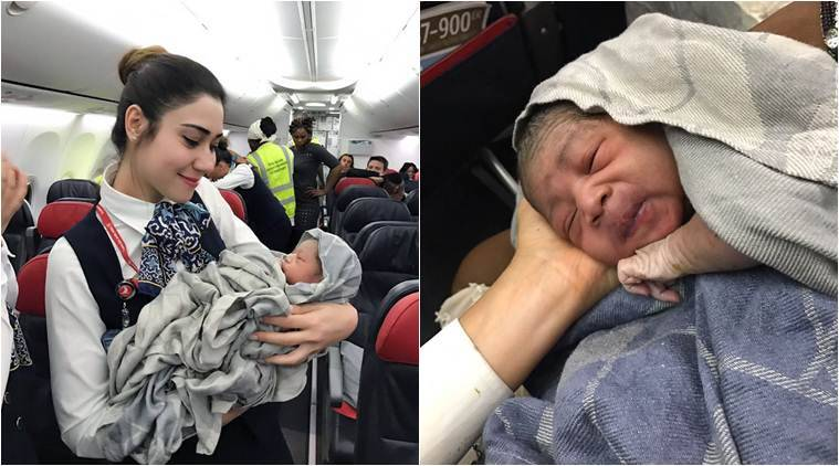Image result for Pakistani mother gives birth mid-air