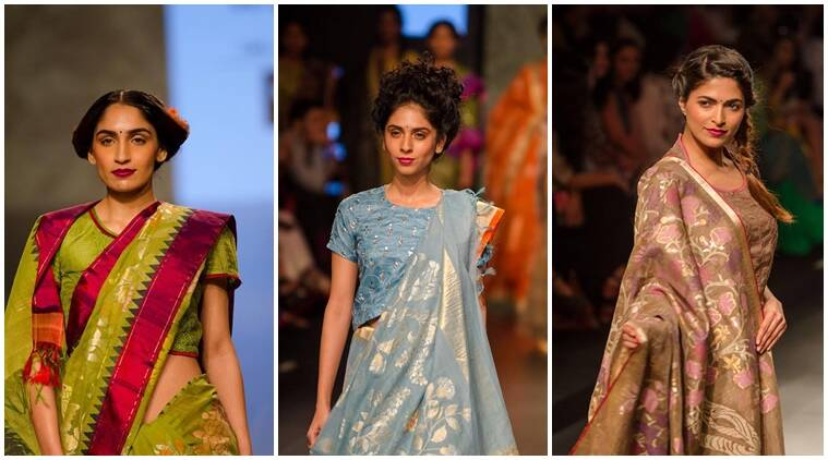 Fashion, fashion statement, fashion and designers, lifestyle and fashion, models on ramp, gaurang shah, weavers of india, textiles in india, fashion designers, indian express, indian express news