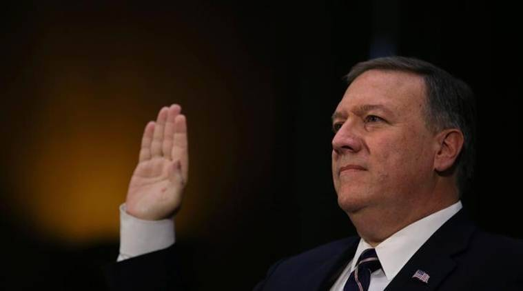 Mike Pompeo, CIA director Mike Pompeo, South Korea, CIA director South Korea, World News, Latest World News, Indian Express, Indian Express News