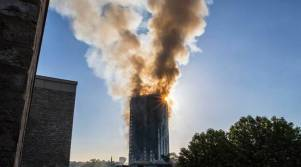 Image result for Some killed in London tower block fire - Fire brigade