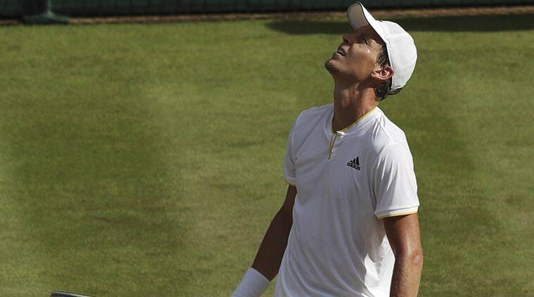Image result for tomas berdych wimbledon 2017