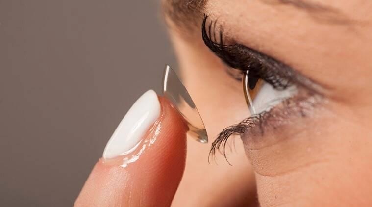 contact lens wearers, tips for contact lens wearers, contact lens, lifestyle news, latest lifestyle news, indian express, indian express news