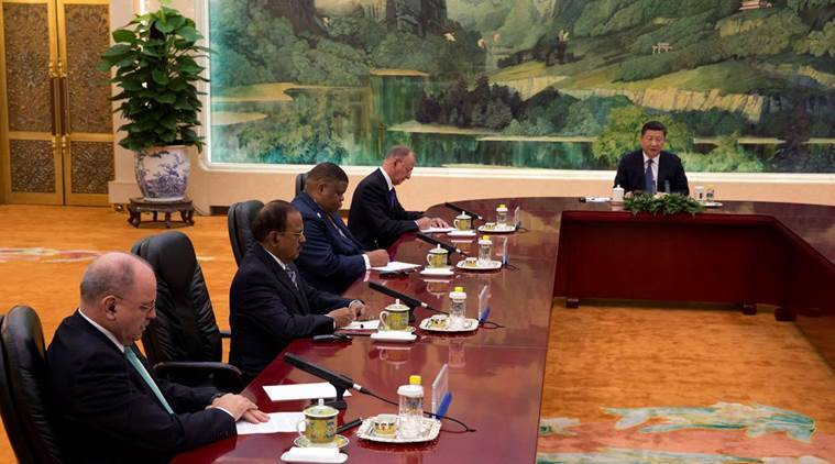 Image result for Ajit Doval, in china, photos