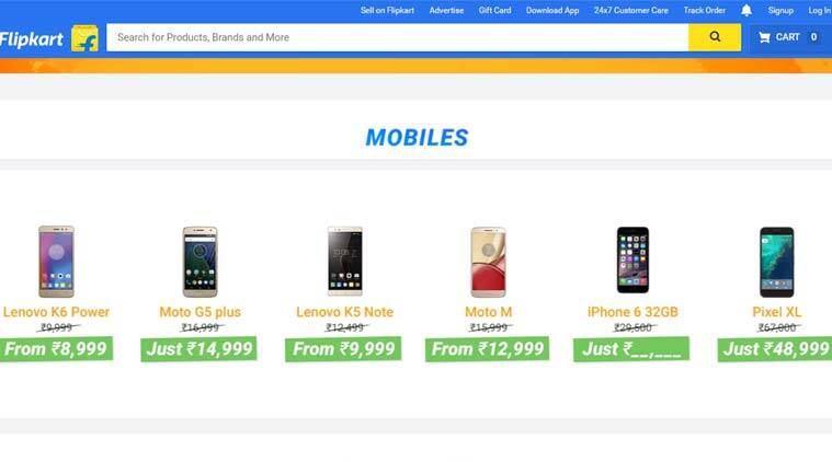 Flipkart The Big Freedom Sale from August 9: Deals on Redmi Note 4, iPhone 6 and more