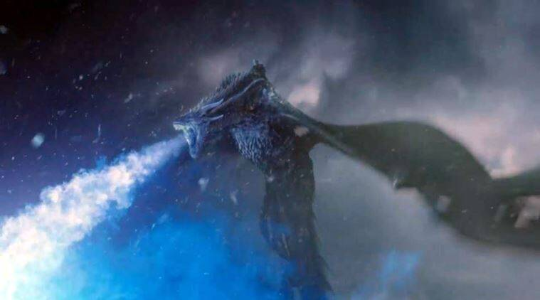 Image result for dragon and the wolf viserion