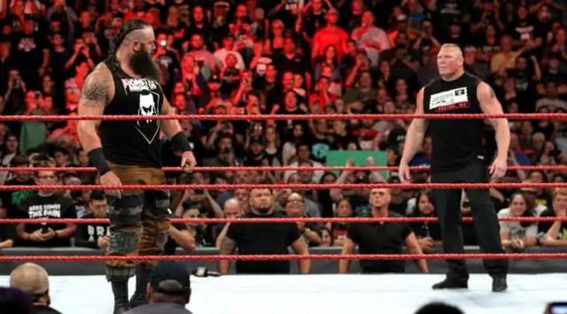 Image result for Brock Lesnar vs. Braun Strowman (Universal Championship)