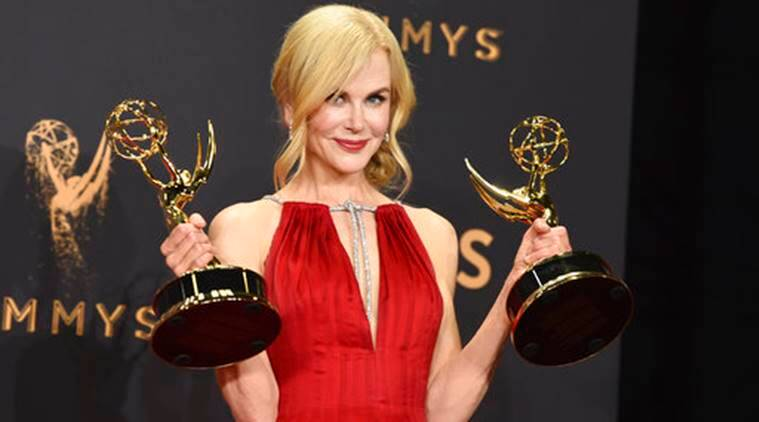 Image result for Nicole Kidman emmy win