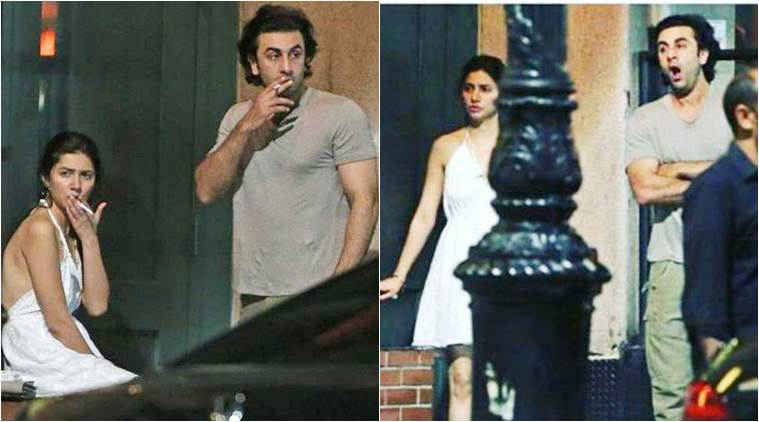 Image result for mahira khan ranbir