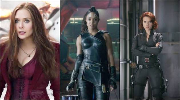 All female Marvel Superhero movie in works    The Indian Express tessa thompson  Scarlett Johansson  Elizabeth Olsen  valkyrie  black widow   scarlet witch
