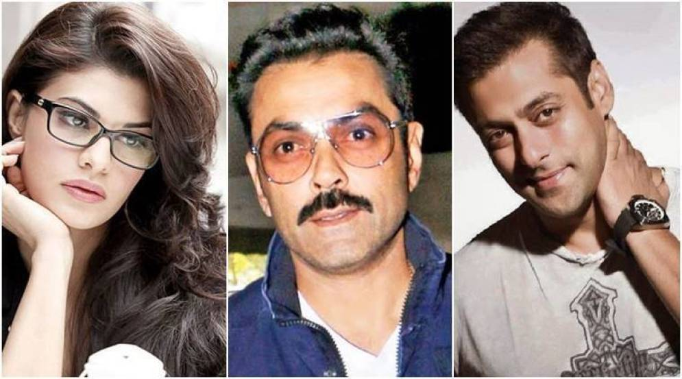 Image result for Bobby Deol joins Salman Khan and Jacqueline Fernandez in Race 3