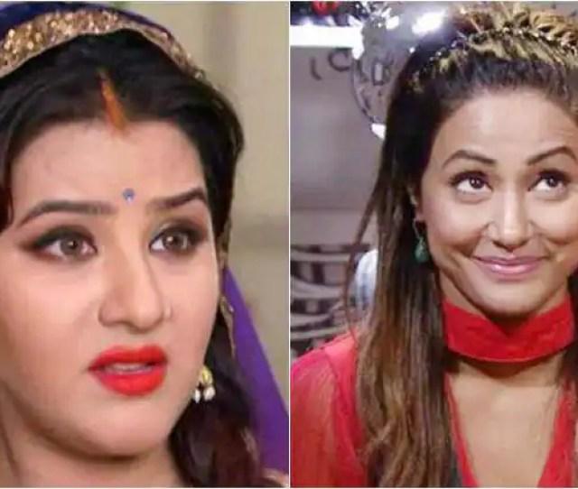 Bigg Boss  Hina Khan Shilpa Shinde Sapna Chouhdary Puneesh Sharma