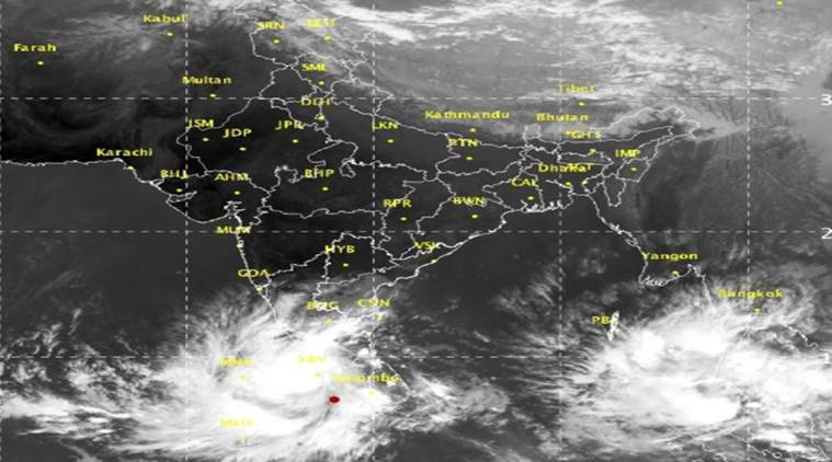 Cyclone Ockhi heads to Maharashtra coast