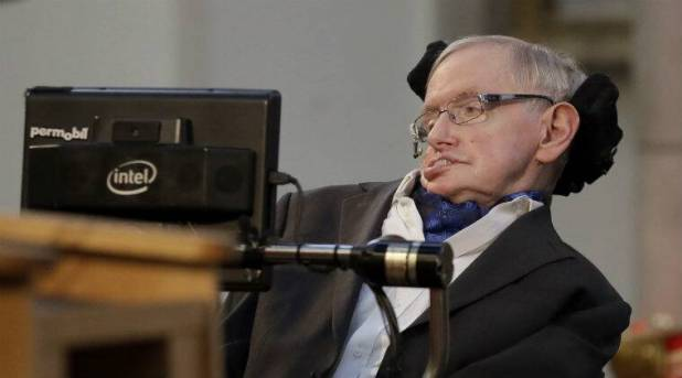 Stephen Hawking, artificial intelligence, humanity limited days, AI design, computer viruses, human habitation, colonising planet, new space programme, global population, Cambridge University AI centre, autonomous weapons, technological revolution, industry