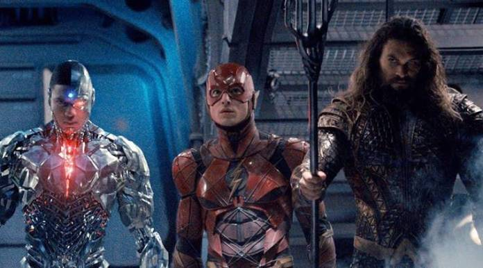 justice league introduces three new DC superheroes cyborg, the flash and aquaman