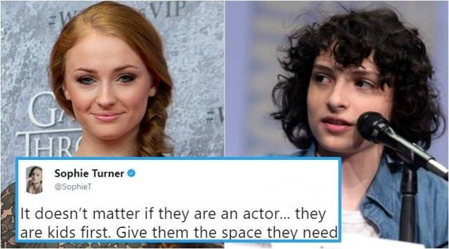 Kids, first: Sophie Turner defends Stranger Things actor Finn Wolfhard in this hard-hitting Twitter thread