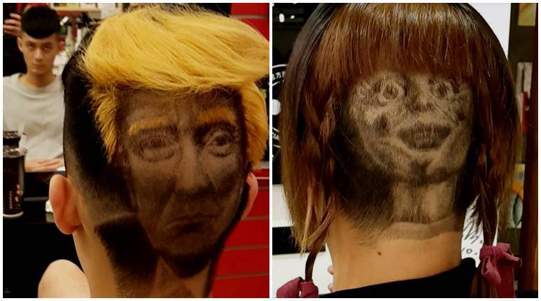 VIDEO Want A Hair Tattoo From Donald Trump To
