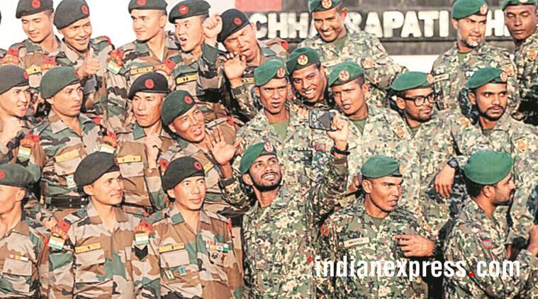 india, maldives, joint military exercide, mndf, indian army, maldivian army, fighting terror, indian express
