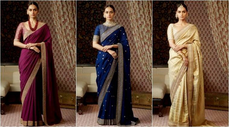 Manushi Chhillar is elegance personified in these beautiful Sabyasachi saris