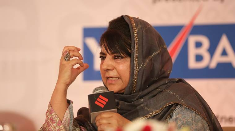 J-K CM Mehbooba Mufti gives cash, jobs to kin of people who died in militancy-related incidents