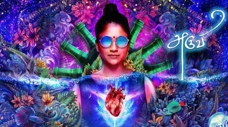 Aruvi's poster