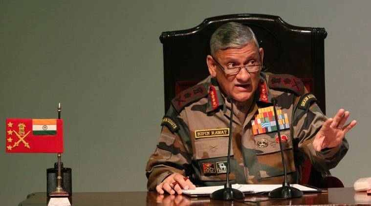 Ceasing of hostilities between India, Pakistan must be on Indian terms: Army chief Bipin Rawat