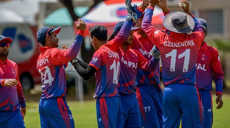 China bowled out for 26, Nepal chase down total in 11 balls