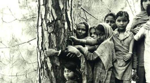 Chipko movement, 45 years of Chipko movement, 45th anniversay of Chipko movement, what is chipko movement, India news, Indian Express