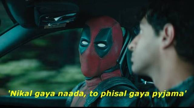 Twitterati all for watching Deadpool 2 in Hindi after seeing the hilariously dubbed desi trailer
