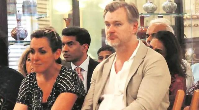 Christopher Nolan arrives in Mumbai