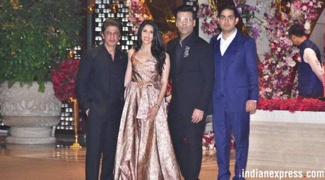 Akash Ambani-Shloka Mehta engagement: Shah Rukh Khan, Aishwarya Rai, Katrina Kaif and others congratulate thecouple