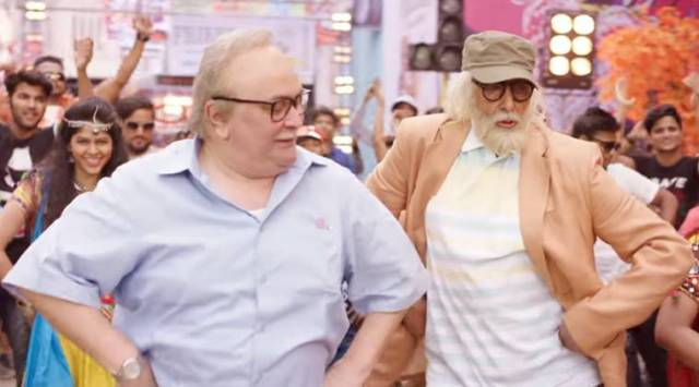 102 Not Out song Badumbaaa: Amitabh Bachchan and Rishi Kapoors antics will put a smile on yourface