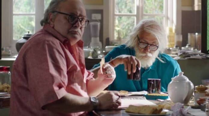 amitabh bachchan and rishi kapoor in 102 not out