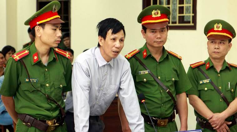 Two more activists jailed in Vietnam amid widening dissent crackdown