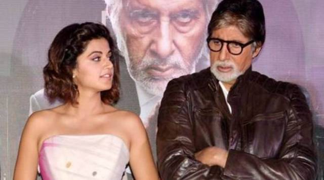 Amitabh Bachchan and Taapsee Pannu to reunite for Sujoy Ghoshs The Invisible Guestremake?