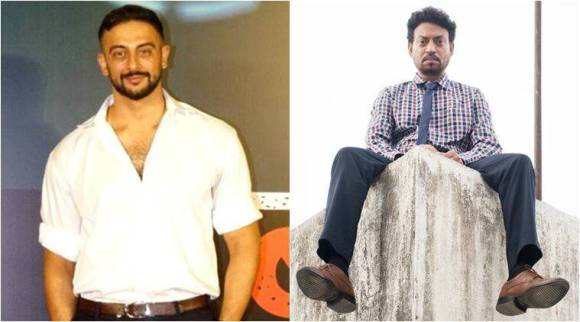 Arunoday Singh on his Blackmail co-star Irrfan Khan's health: We should just send prayers and love hisway