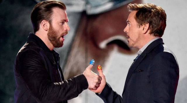 Chris Evans: Robert Downey Jr incredibly giving actor