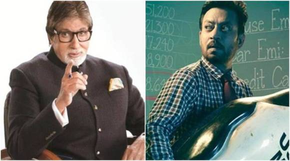 Amitabh Bachchan lauds Irrfan Khan's Blackmail, says 'happy to see such creativity'