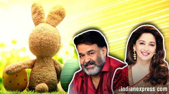 Happy Easter: Mohanlal to Madhuri Dixit, celebrities wish their fans onTwitter