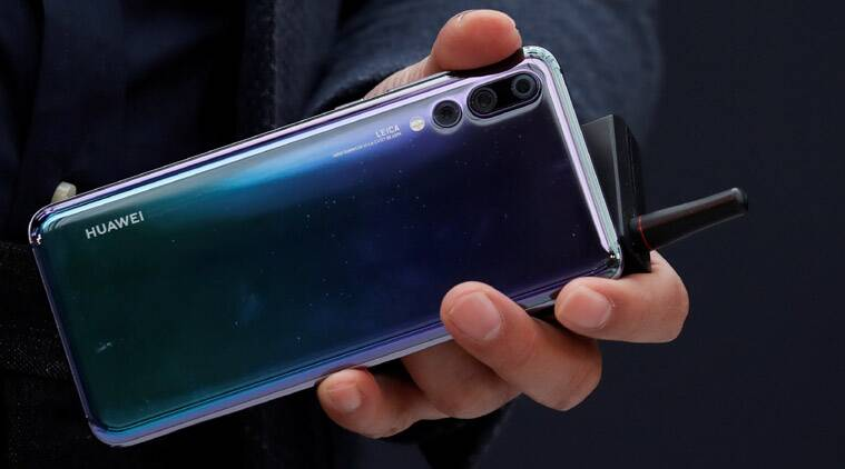Image result for Huawei's next flagship might ditch the notch for a hole in the display