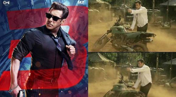Race 3: Salman Khan wields a gun at enemies in this viral clip