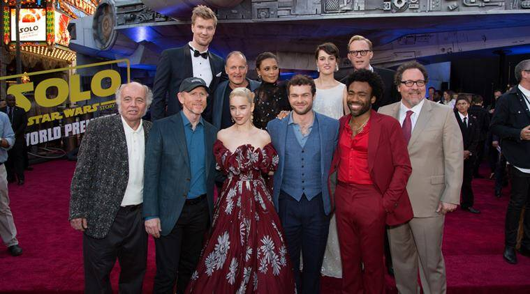 Solo A Star Wars Story debuts, brings Millennium Falcon toHollywood