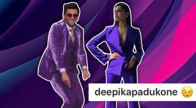 Cannes 2018: Deepika Padukone winks at Ranveer Singhs matching purple suit; Netizens call it true love