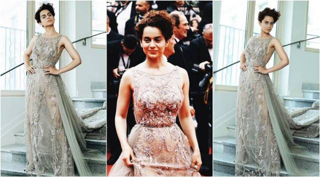 Cannes 2018: Kangana Ranaut looks sultry in a sheer Zuhair Murad number