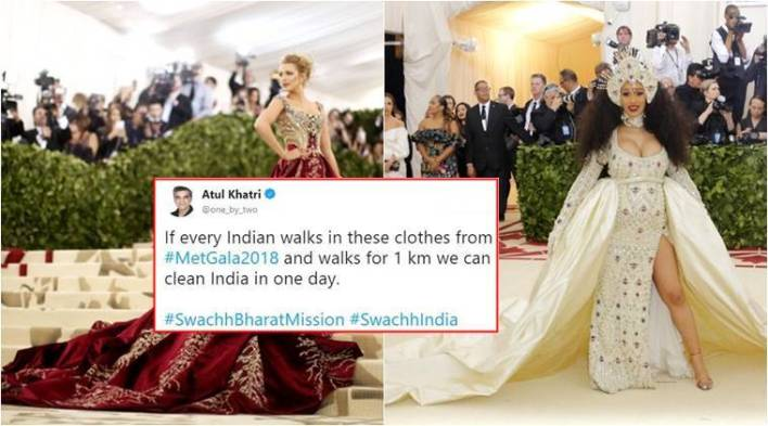 In addition to Priyanka Chopras dress, here are other Met Gala 2018 outfits that inspired HILARIOUS memes