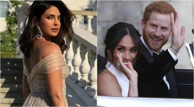 Meghan Markle and Prince Harrys reception: Priyanka Chopra attends the intimate affair