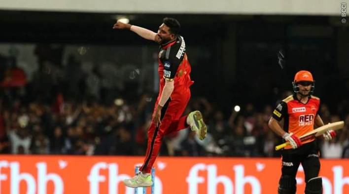 Royal Challengers beat Sunrisers Hyderabad by 14 runs