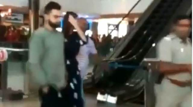 IPL 2018: Virat Kohli, Anushka Sharma watch Avengers Infinity War in Bangalore; watch video