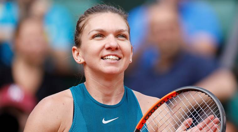 Image result for simona halep french open 2018