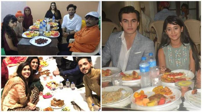 iftar parties on show sets