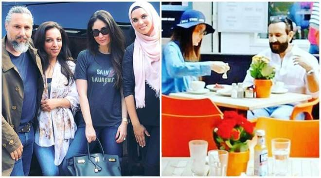 Its work and play for Kareena Kapoor in London, seephotos